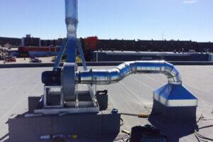 Ventilateur au toit (ventilation)